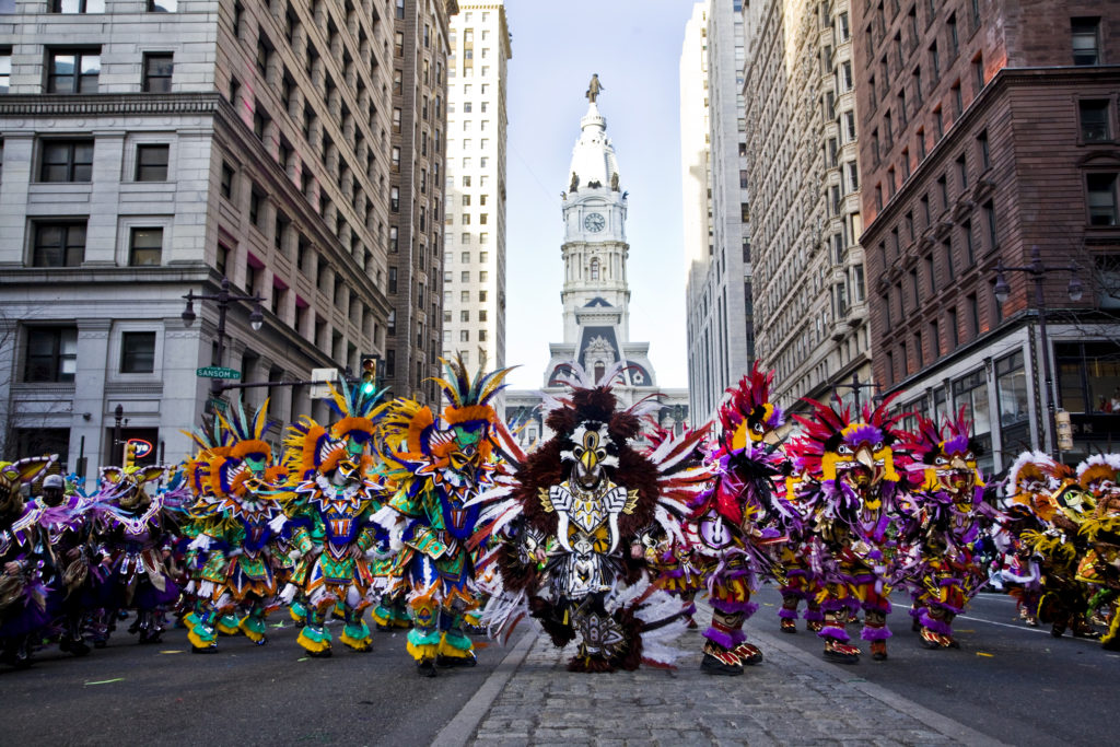 """Oh, Dem Golden Slippers"" –  The Mummers Strut to a composition by James A. Bland"