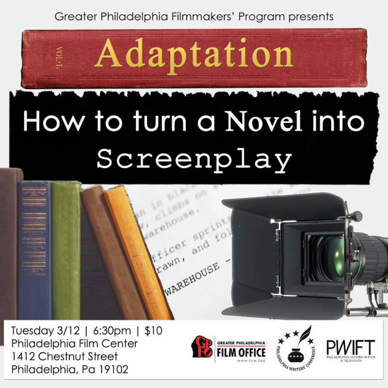 Adaption: How to turn a novel into a screenplay and vice versa