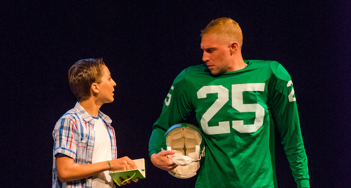 "The poignancy of Theatre Exile and Philly sports journalism legend Ray Didinger's ""Tommy and Me"""
