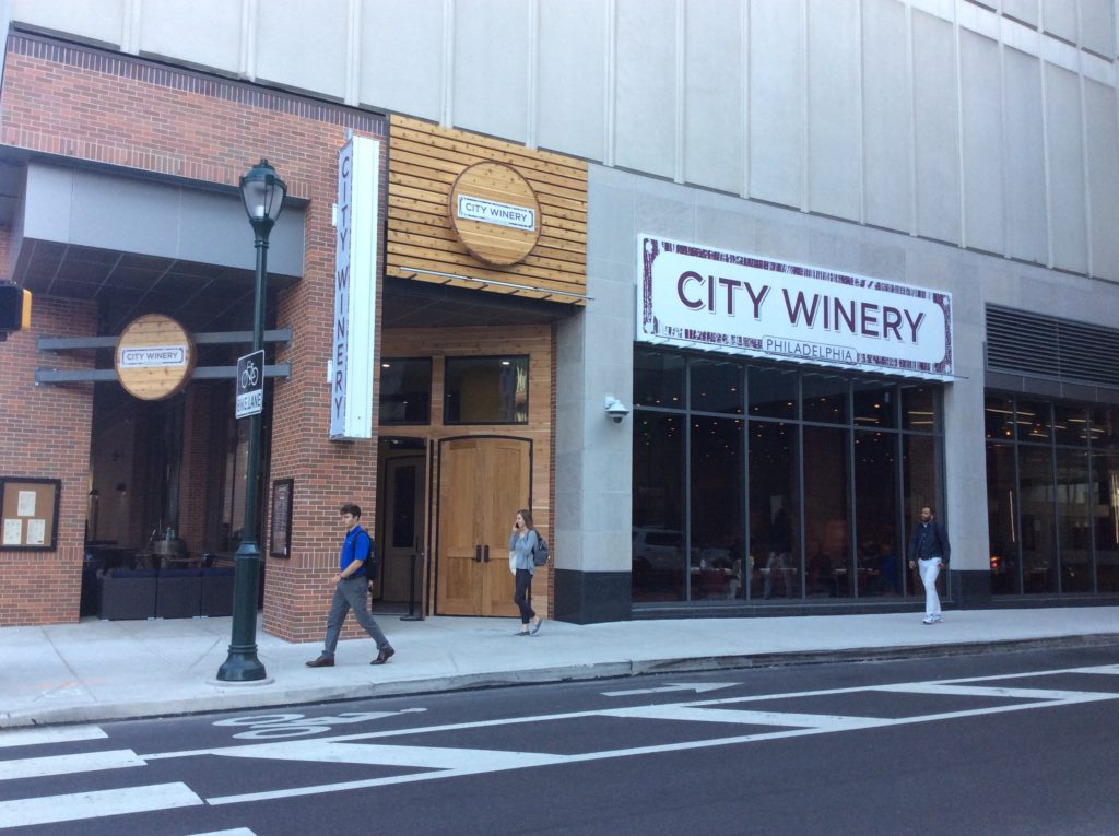 Now open: City Winery Philadelphia