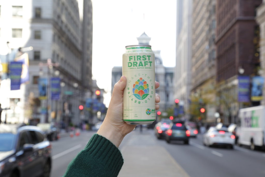 Yards, Connor Barwin team up for new, Make the World Better IPA