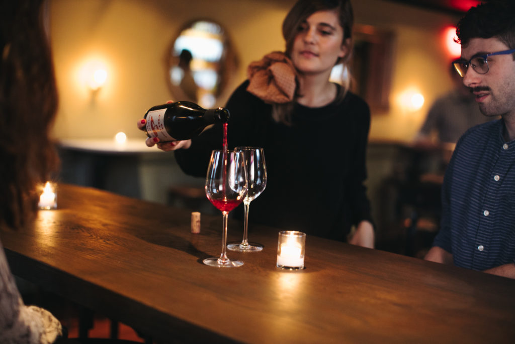 "Bella Vista's The Good King Tavern has a new natural wine bar upstairs in ""le Caveau"""