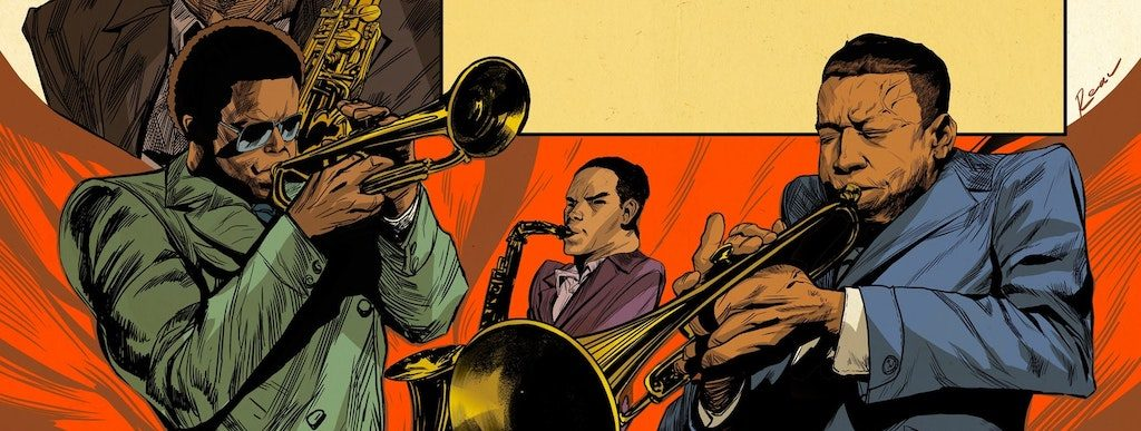 "The New Avengers? ""Philadelphia Jazz Stories Illustrated: Volume One"" drops this week"