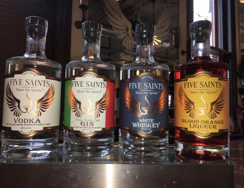 These local distilleries are now making hand sanitizer and offering delivery or curbside pick-up for booze