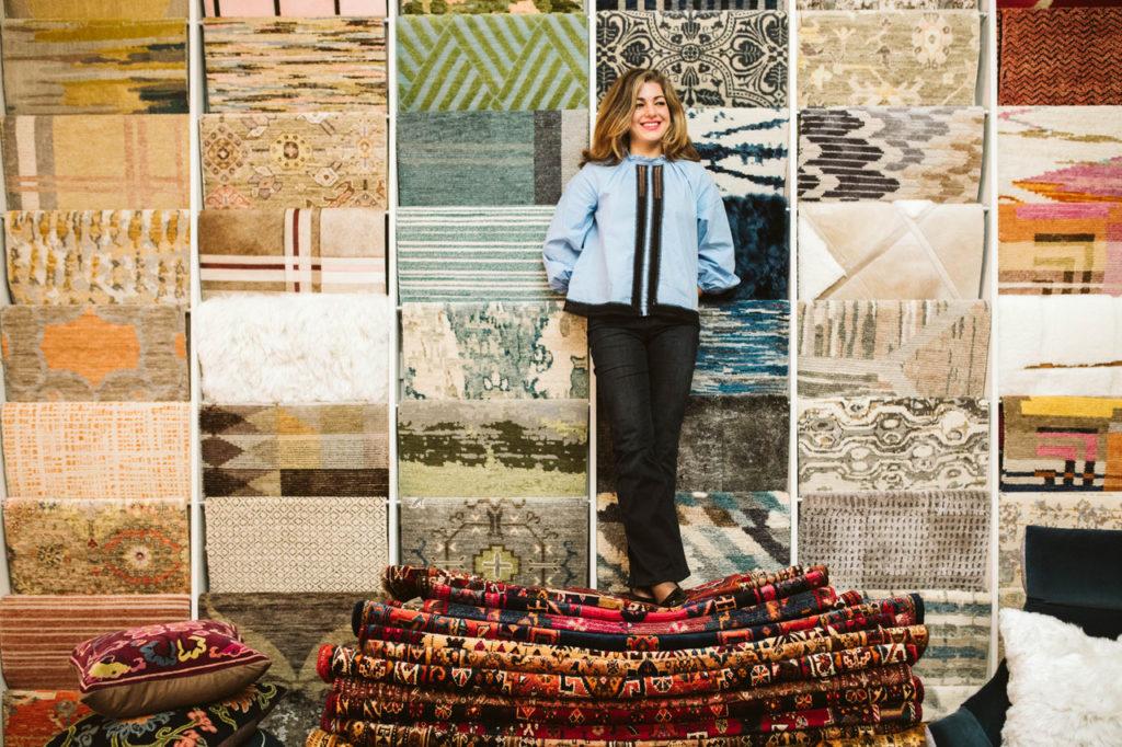 A higher cloth – Parisa Abdollahi's Persian rugs raises the standard to gold