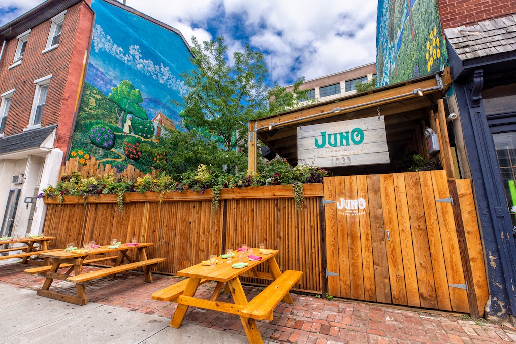 Jumping on Juno: Philly's brand new, designed-for-the-great-outdoors Mexican restaurant