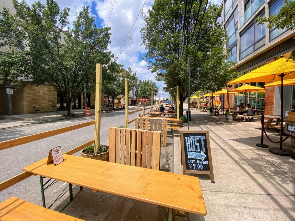 Northern Liberties debuts Easy StrEats al fresco street dining