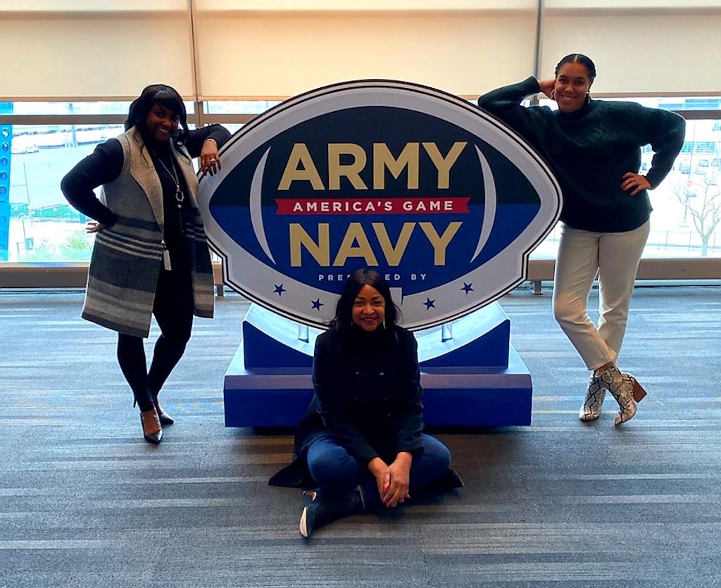 Mechelle Sabb Jazelle jones Ilia Ghee army navy