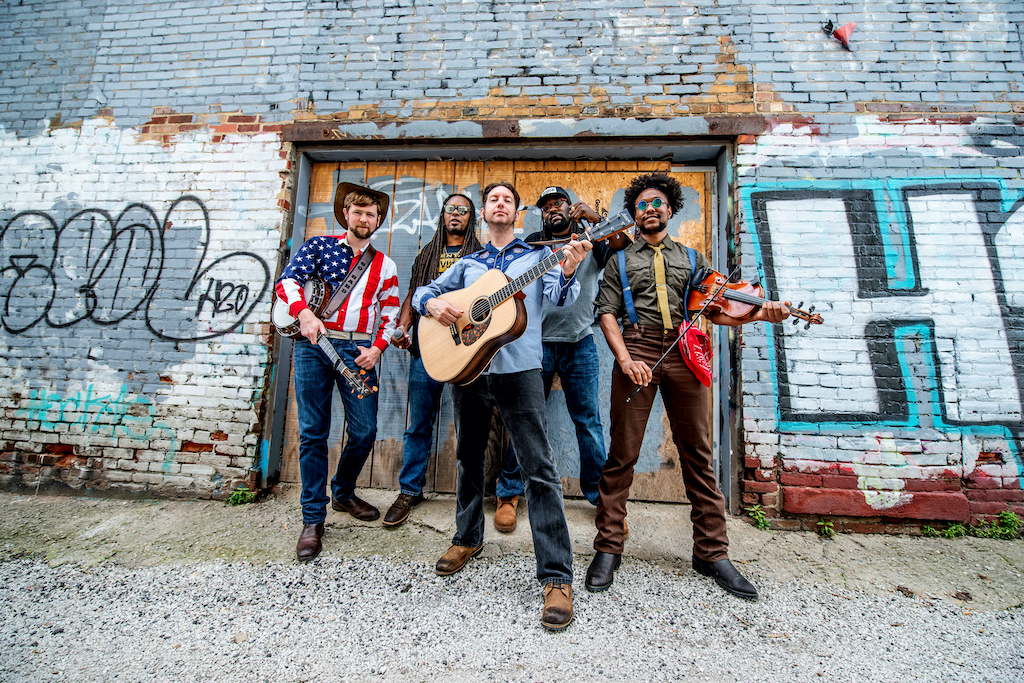 Gangstagrass spends time hanging in Fountain Square