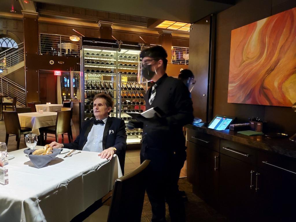 Ocean Prime Indoor Dining Philadelphia Waiter