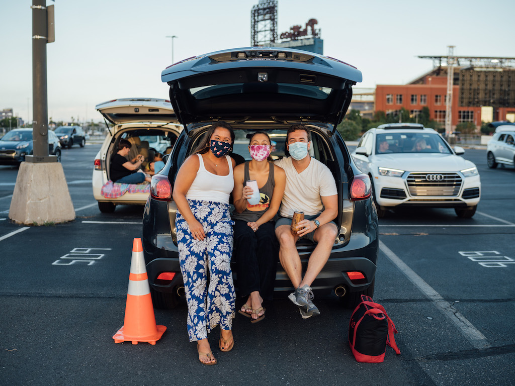 Jim Gaffigan Citizens Bank Park Philadelphia Parking Lot Concert Goers