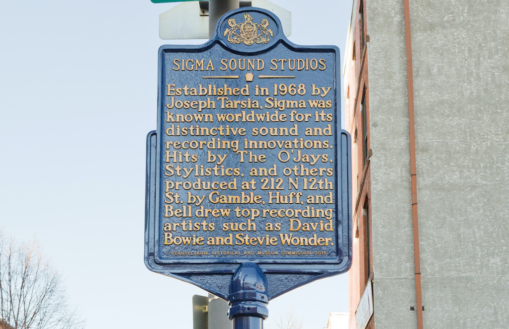 Sigma Sound Historical Marker