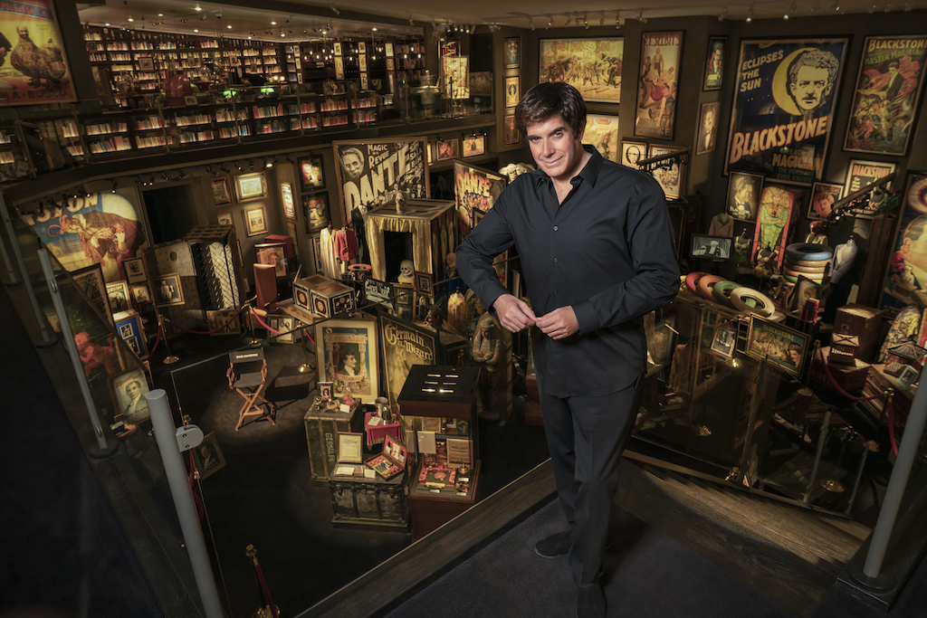 David Copperfield inducted into Philly's NMAJH Hall of Fame