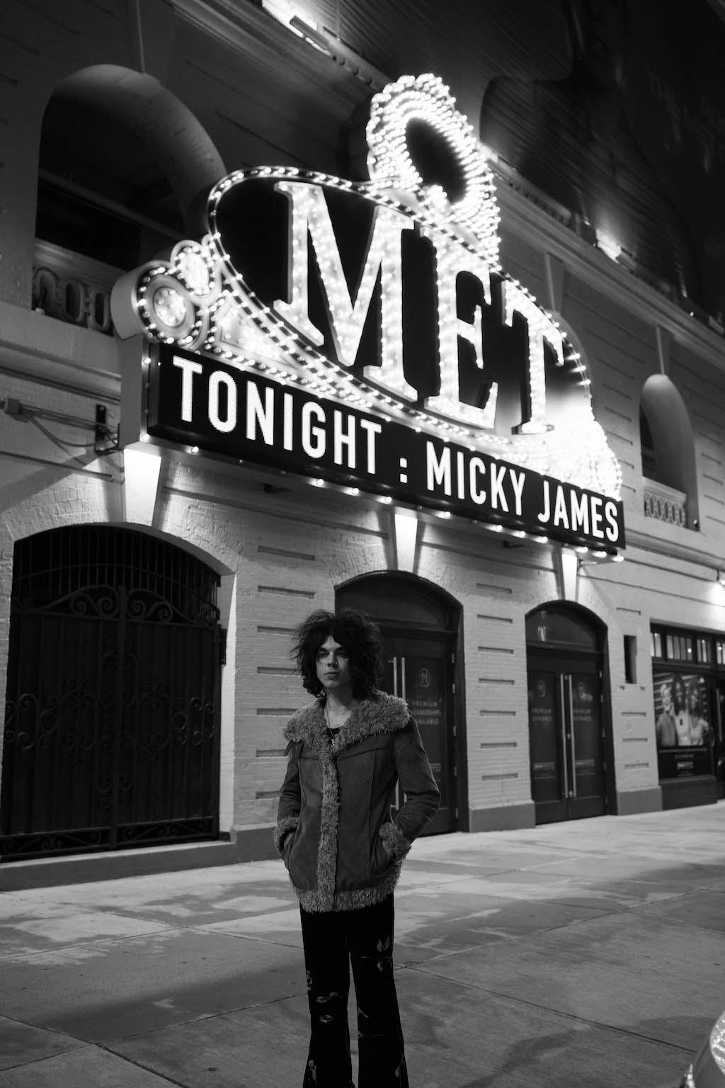 Micky James