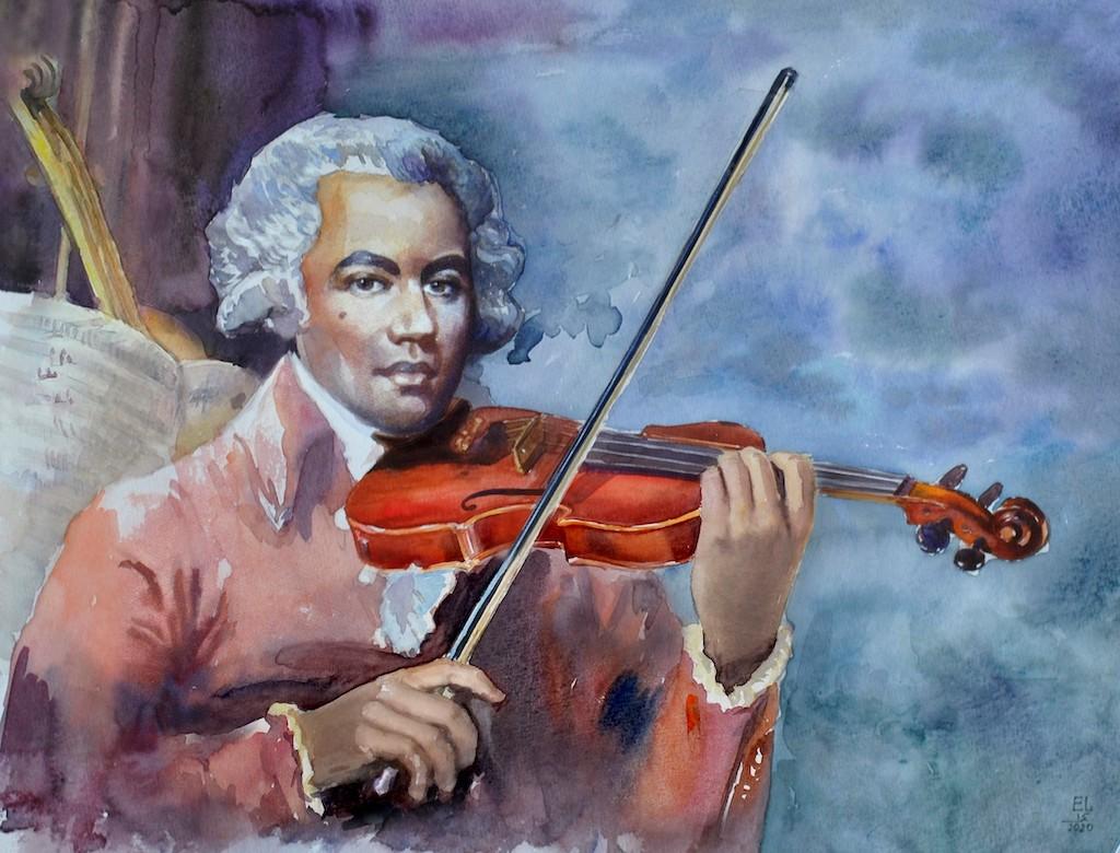 Joseph Bologne, A Symphony for Saint-Georges