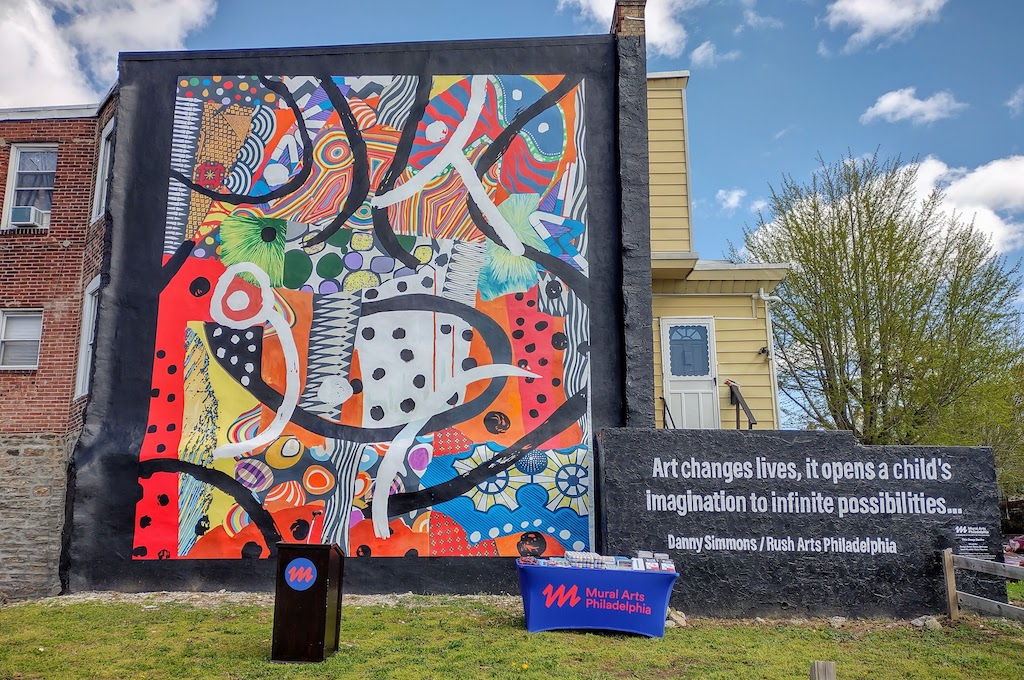 "Danny Simmons, Gabe Tiberino – A New Mural, ""This Deep Desire"""