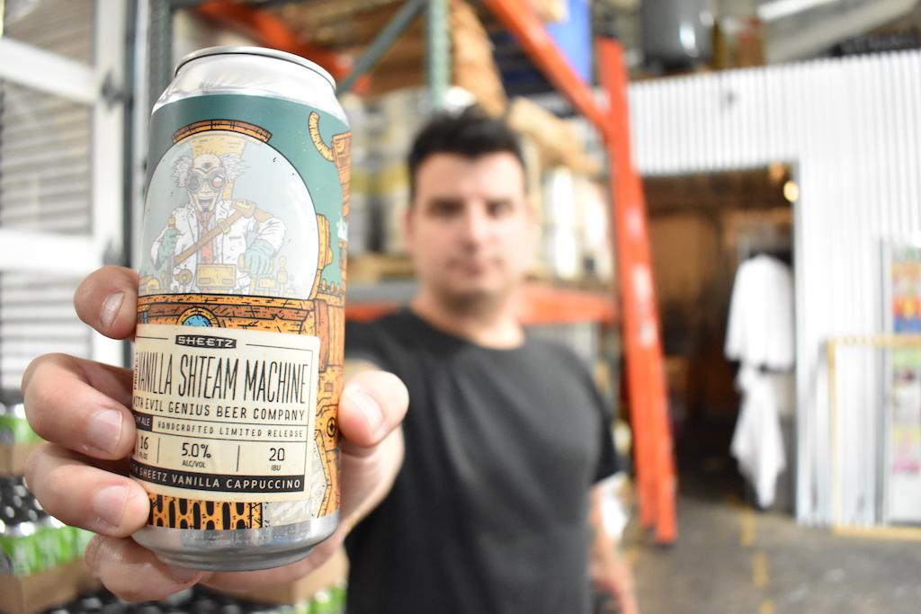 Evil Genius Beer and LOKI Seltzer