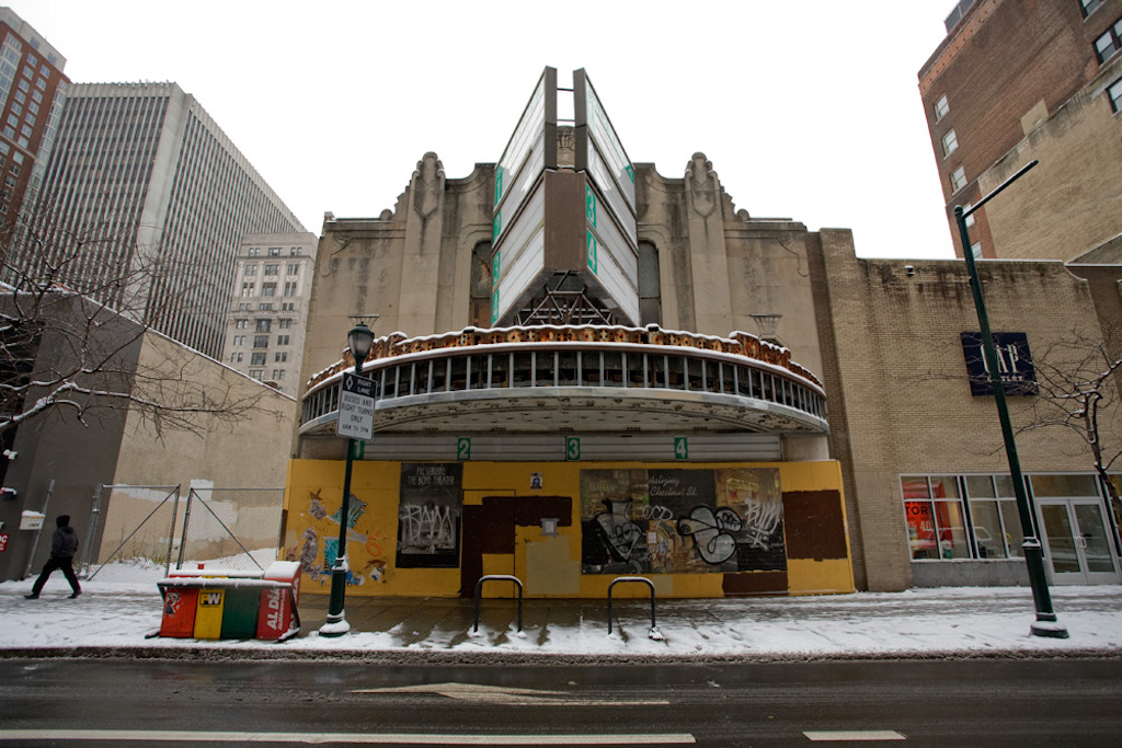 The Boyd Theatre Gets Bankrolled