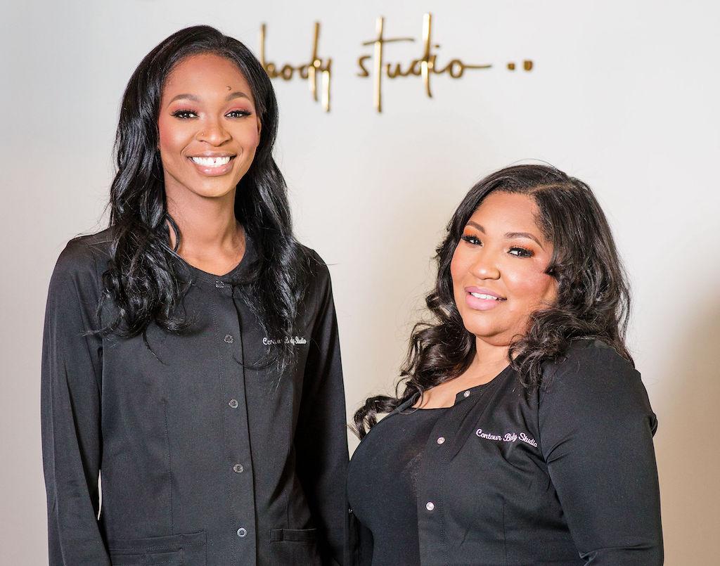 Morria Winn and Stephanie Barnes: Connected